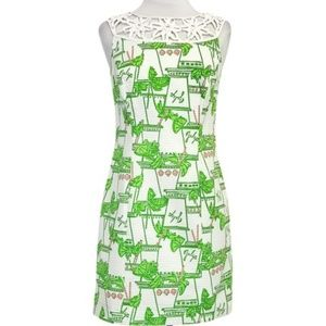 Lilly Pulitzer Mint Julep Lacina Dress Size 4